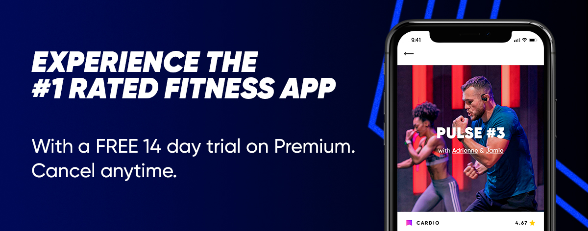 Train on the #1 rated workout app